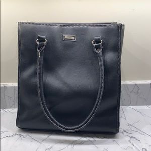 Totes black shoulder bag